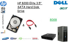 """80GB HP 8200 Elite 3.5"""" SATA Hard Disk Drive (HDD) Replacement / Upgrade"""