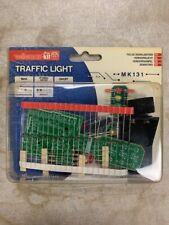 Traffic Light MiniKit - MK131 by Velleman. A beginner level soldering kit