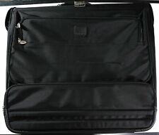 Tumi Dakota Rolling Wheeled Garment Bag Black Large 24 Inch Luggage Wardrobe VG