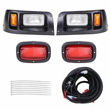 DS Models Golf Club Cart LED Halogen Rear Headlight Car Tail Light Kit 1993 & Up