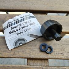 Shimano TL-FH30 vintage Dura Ace freehub removal tool with manuals