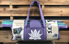 NEW Lotus Trolley Bags w/Cooler Bag/Egg/Wine Holders - Reusable Grocery Bags