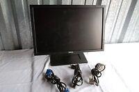 """Dell E1909Wc 19"""" Widescreen Black LCD Monitor DVI VGA 5ms 1440x900 E1909W R034G"""