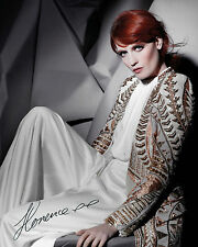 FLORENCE AND THE MACHINE #3 - 10X8 PRE PRINTED LAB QUALITY PHOTO PRINT
