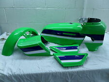 KAWASAKI Z1100 EDDIE LAWSON  PAINTWORK DECAL KIT INCLUDING TANK TOP #1 SHIELD