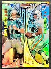 1997 BOWMAN'S BEST MIRROR IMAGES REFRACTOR #MI2 - MARINO, YOUNG, BLEDSOE, BANKS