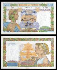 Billet France - 500F La Paix - 19.12.40 - SUP - Fay : 32.11