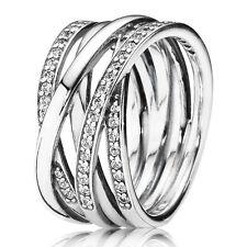 Pandora anillo 190919 CZ plata