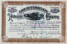 East Pennsylvania Railroad Company,  1935 (49 Shares)