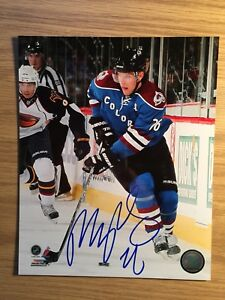 Paul Stastny SIGNED 8x10 Official Photo Colorado Avalanche w/Toploader