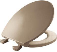 Bemis 800Ec 006 Lift-Off Plastic Round Toilet Seat, Bone