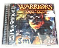 Warriors of Might & Magic Complete Playstation PS1 Game CIB Original