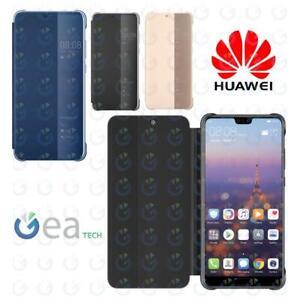 Custodia Originale HUAWEI per P20 Smart View Cover Flip Case Touch a Libro Slim