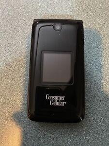 ALCATEL GOFLIP Flip Phone Gray 8GB BLACK (Consumer Cellular)