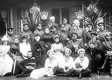 Gathering of Members of Romanov Family-1892 at Summer Manoeuvres in Krasnoe Selo