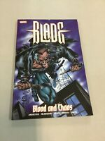 Blade Blood And Chaos 1 Paperback Tpb Marvel Comics