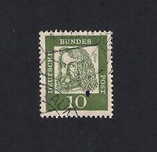 GERMAN STAMP 1961 Famous Germans 10 Pfg USED (E4)