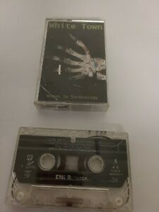 White Town - Women in Technology - audio cassette tape - Plays 100%