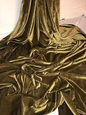 Designer épais Damassé café antique velours marron tissu de chenille