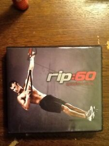 RIP:60 Workout DVD (Full Set of 12 discs) w/ Tapout XT