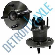 New Set (2) Rear Wheel Hub and Bearing Assembly for Cobalt - 4 Bolt w/ ABS