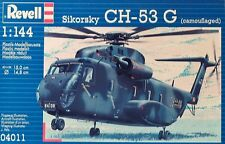 REVELL 1:144 KIT ELICOTTERO SIKORSKY CH 53 G    LUNGHEZZA 15 CM  ART 04011