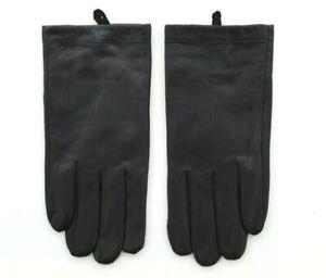 Calvin Klein Men's Leather Gloves, CK Touchscreen Winter Glove, Black, $70
