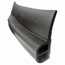 """RV Slide Out Seal 3/4"""" x 1"""" x 2 1/4"""" in Black - per foot EPDM with self adhesive"""