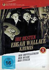 DVD-BOX NEU/OVP - Die besten Edgar Wallace Krimis - 3 Filme - Der Hexer u.a.