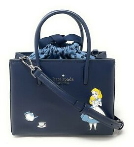 Kate Spade Disney Alice In Wonderland Shopper Satchel Bag WKR00599 $329