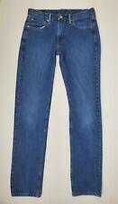 Levis 511 Denim Blue Jeans Mens Size 36x34 Slim Fit