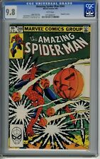 Amazing Spider-Man #244 - CGC 9.8 - WHITE Pages - John Romita Jr. - 1983