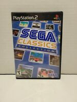 Sega Classics Collection Sony PlayStation 2 PS2 Complete in Box CIB