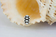 Freshwater Pearl Cluster Fine Rings