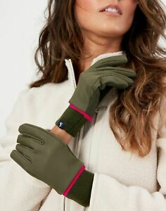 Joules Womens Drysdale Gloves - Grape Leaf