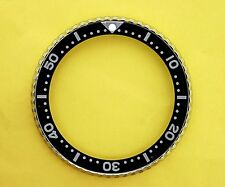 "SEIKO BEZEL W/ INSERT BLACK ""I"" FOR 6309 7040, 7290, 6306, 7002 WATCH #84"