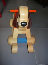 chien à bascule fisher-price n°135 vintage