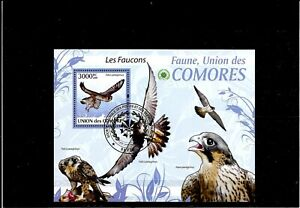 Briefmarken -Comores -Vogel -Block  -2009