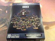 40K Warhammer Orks Start Collecting! NIB