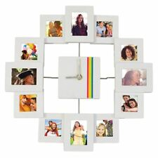 Polaroid Clock Photo Frame - Personalise with your favourite images !
