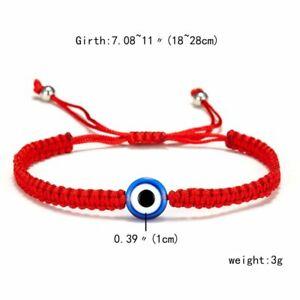 5/7pcs/set Lucky Turkish Evil Eye Bracelets Women Handmade Braided Rope Jewelry