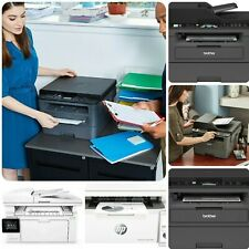 Multifunction Wireless Laser Black-and-White All-in-One Printer Copy Scan Fax