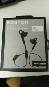 Urbanista Boston Wireless Headphones - Black (21315)