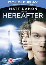 Hereafter Matt Damon (Blu-ray and DVD Combo, 2011) FREE SHIPPING