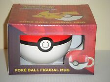Pokemon GO Pokeball 3D Figural Ceramic Mug Tea/Coffee Cup US SELLER