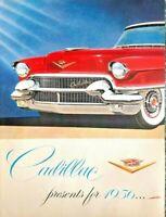 1955 Cadillac Automobile Car Vintage Print Ad THREE Sheet Advertisement
