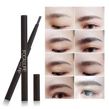 FOCALLURE Waterproof Eyebrow Pencil Eye Brow Liner Powder Shaper Brush Makeup~~