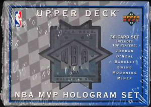 "1993 1994 Upper Deck MVP ""Hologram Set SEALED BOX (36 CT) Michael Jordan PSA 10?"