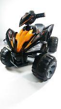 Kids Ride On Quad Bike Pro Raptor Style 12v Electric Battery Toy ATV Car Black