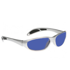 BoroTruView Shade #3 Glassworking Safety Glasses - 59-20-130 Silver Plastic Wrap